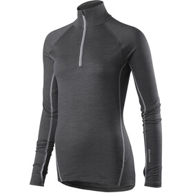 Houdini Airborn Zip Shirt Women Bleached Black